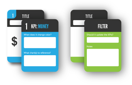 KPI and Filter Cards